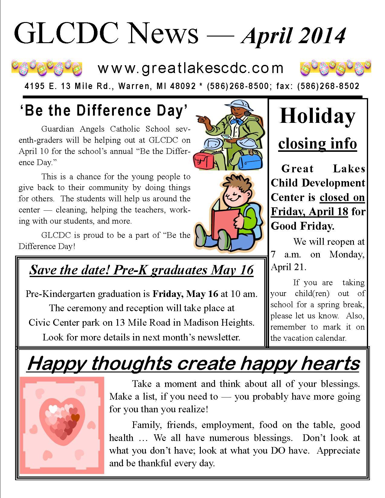 april 2014 news